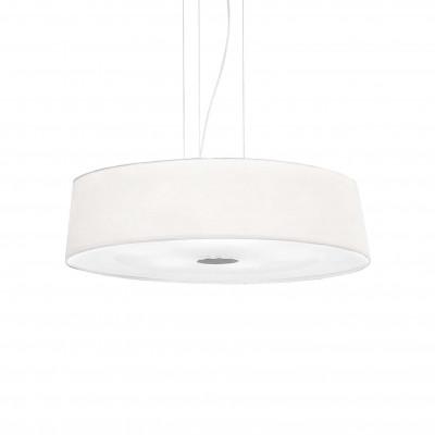 Ideal Lux - Tissue - HILTON SP6 - Lampada a sospensione - Bianco - LS-IL-075518