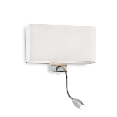 Ideal Lux - Tissue - HOTEL AP2 - Applique - Bianco - LS-IL-035949