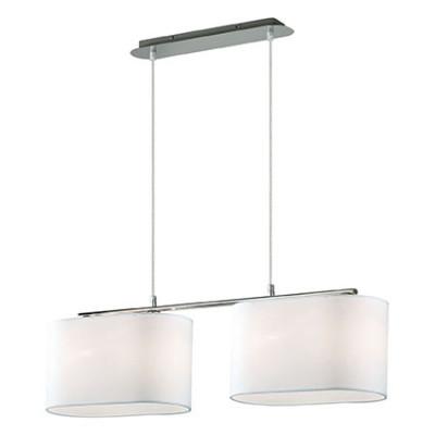Ideal Lux - Tissue - SHERATON SB4 - Lampada a sospensione - Bianco - LS-IL-074962