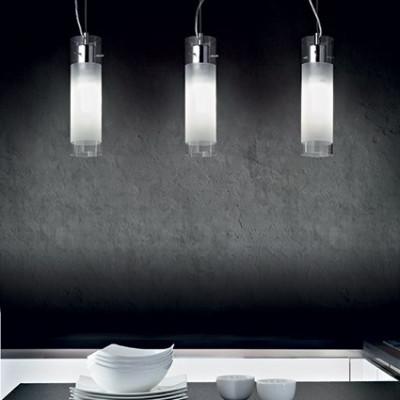 Ideal Lux - Tube - FLAM SP1 SMALL - Lampada a sospensione