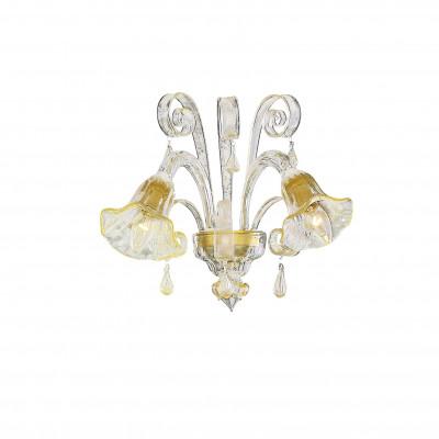 Ideal Lux - Venice - CA' D'ORO AP2 - Applique - Ambra - LS-IL-020983