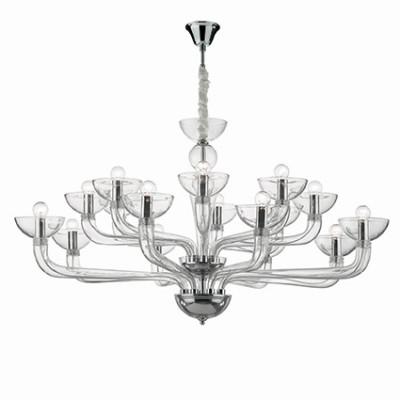 Ideal Lux - Venice - CASANOVA SP16 - Lampada a sospensione - Trasparente - LS-IL-044248