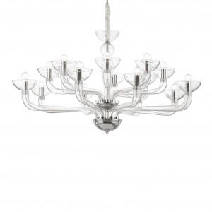 Ideal Lux - Venice - Casanova SP16 - Lampadario in vetro lavorato a mano