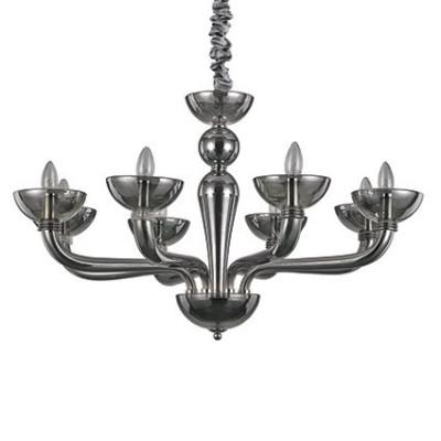 Ideal Lux - Venice - CASANOVA SP8 - Lampada a sospensione - Fumé - LS-IL-095615