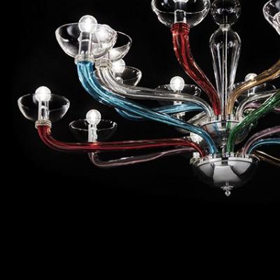 Ideal Lux - Venice - CASANOVA SP8 - Lampada a sospensione - Multicolor - LS-IL-104775