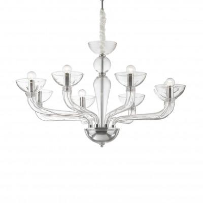 Ideal Lux - Venice - CASANOVA SP8 - Lampada a sospensione - Trasparente - LS-IL-044255