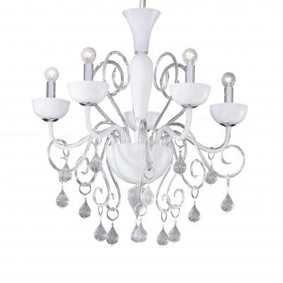 Ideal Lux - Venice - LILLY SP5 - Lampada a sospensione - Bianco - LS-IL-022789