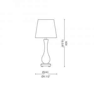 Ideal Lux - Venice - LILLY SP5 - Lampada a sospensione
