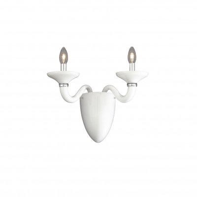 Ideal Lux - Venice - WHITE LADY AP2 - Applique - Bianco - LS-IL-019376