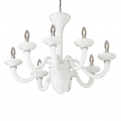 Ideal Lux - Venice - WHITE LADY SP8 - Lampada a sospensione - Bianco - LS-IL-019390