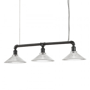 Ideal Lux - Vintage - Astrid SP3 - Lampada a sospensione a barra