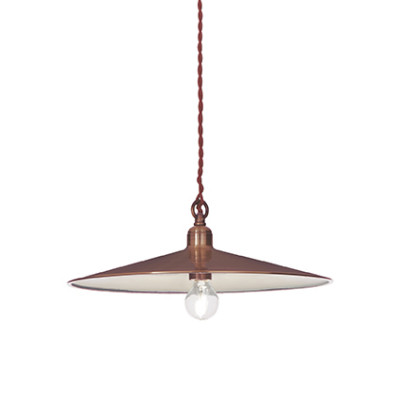 Ideal Lux - Vintage - Cantina SP1 Big - Lampada a sospensione - Rame - LS-IL-112732