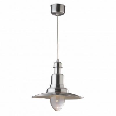 Ideal Lux - Vintage - FIORDI SP1 BIG - Lampada a sospensione - Grigio alluminio - LS-IL-022819