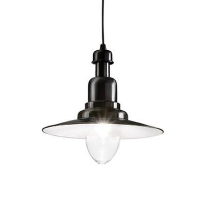 Ideal Lux - Vintage - FIORDI SP1 BIG - Lampada a sospensione - Nero - LS-IL-122052