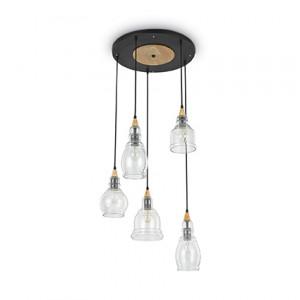 Ideal Lux - Vintage - Gretel SP5 - Lampada a sospensione