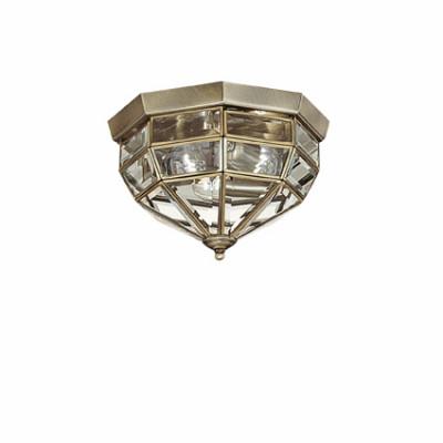 Ideal Lux - Vintage - NORMA PL3 - Applique / Plafoniera - Brunito - LS-IL-004426