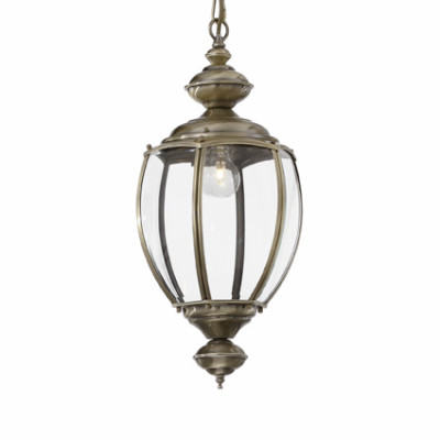 Ideal Lux - Vintage - NORMA SP1 BIG - Lampada a sospensione - Brunito - LS-IL-005911