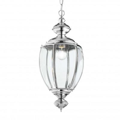 Ideal Lux - Vintage - NORMA SP1 BIG - Lampada a sospensione - Cromo - LS-IL-094786