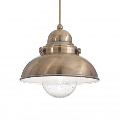 Ideal Lux - Vintage - SAILOR SP1 D29 - Lampada a sospensione - Brunito - LS-IL-025308