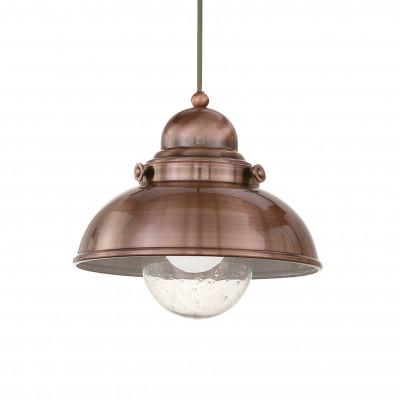 Ideal Lux - Vintage - SAILOR SP1 D29 - Lampada a sospensione - Rame - LS-IL-025278