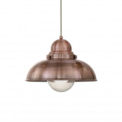 Ideal Lux - Vintage - SAILOR SP1 D43 - Lampada a sospensione - Rame - LS-IL-025315