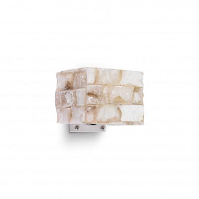 Ideal Lux - Wall - Carrara AP1 - Applique con diffusore in alabastro - Alabastro - LS-IL-000619