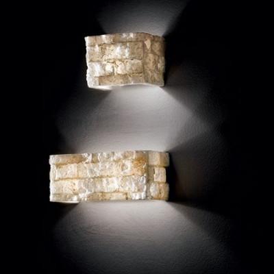 Ideal Lux - Wall - Carrara AP1 - Applique con diffusore in alabastro