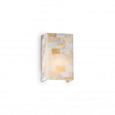 Ideal Lux - Wall - SCACCHI AP1 - Lampada da parete - Ambra - LS-IL-015101