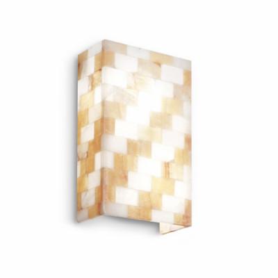 Ideal Lux - Wall - SCACCHI AP2 - Lampada da parete - Ambra - LS-IL-015118