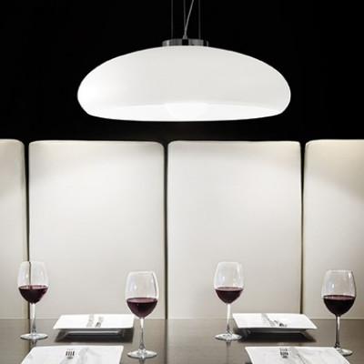 Ideal Lux - White - ARIA SP1 D50 - Lampada a sospensione