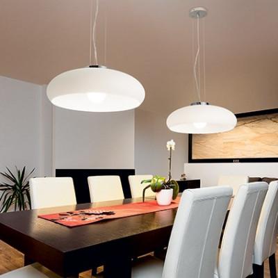 Ideal Lux - White - ARIA SP1 D60 - Lampada a sospensione