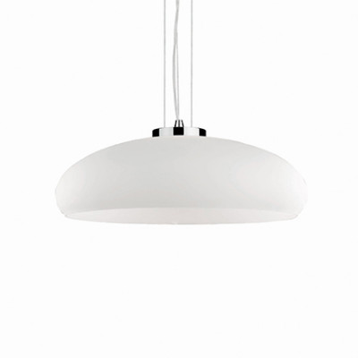 Ideal Lux - White - ARIA SP1 D60 - Lampada a sospensione - Bianco - LS-IL-052823