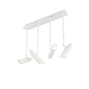 Ideal Lux - White - Bullet Pl4 - Lampada da soffitto