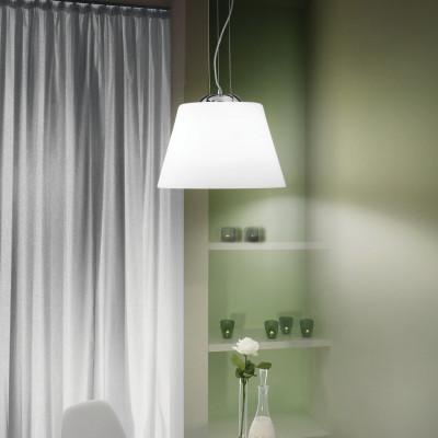 Ideal Lux - White - CYLINDER SP1 D40 - Lampada a sospensione
