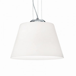 Ideal Lux - White - CYLINDER SP1 D40 - Lampada a sospensione