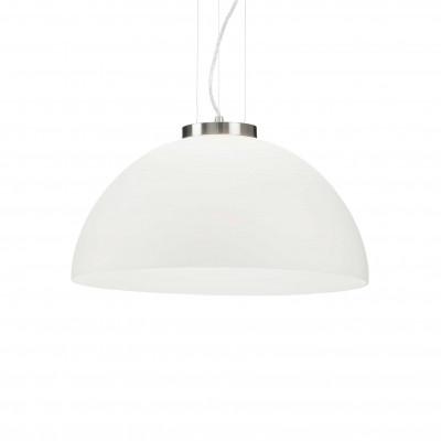 Ideal Lux - White - ETNA SP1 D50 - Lampada a sospensione - Bianco - LS-IL-027906