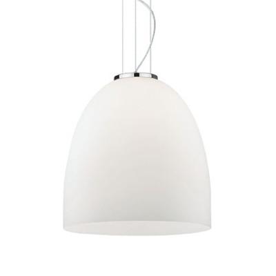 Ideal Lux - White - EVA SP1 BIG - Lampada a sospensione - Bianco - LS-IL-077703