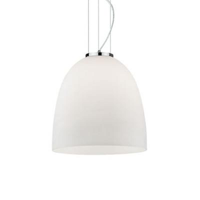 Ideal Lux - White - EVA SP1 SMALL - Lampada a sospensione - Bianco - LS-IL-077697