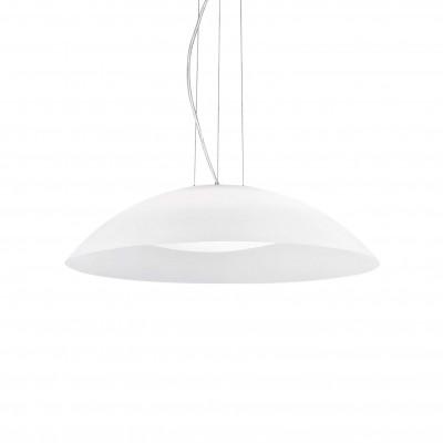 Ideal Lux - White - LENA SP3 D64 - Lampada a sospensione - Bianco - LS-IL-035727