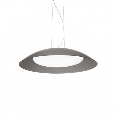 Ideal Lux - White - LENA SP3 D64 - Lampada a sospensione - Grigio - LS-IL-066592