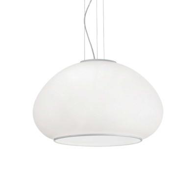 Ideal Lux - White - MAMA SP3 D50 - Lampada a sospensione - Bianco - LS-IL-071022