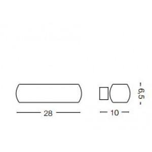 Ideal Lux - White - MORIS AP2 - Applique