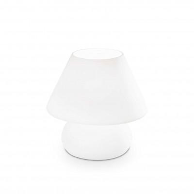 Ideal Lux - White - PRATO TL1 BIG - Lampada da comodino - Bianco - LS-IL-074702