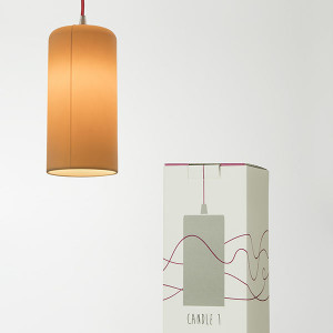 In-es.artdesign - Be.pop - Candle 1 SP - Lampada a sospensione di design