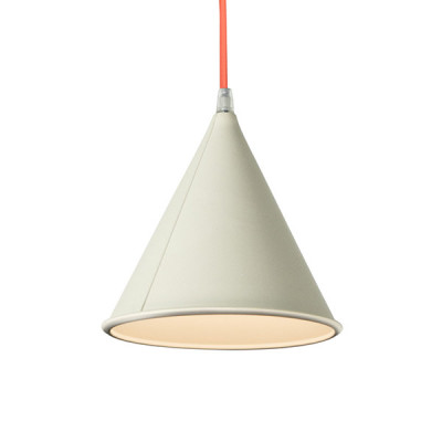In-es.artdesign - Be.pop - Pop 2 SP - Lampadario moderno colorato - Bianco/Arancio - LS-IN-ES022B-AF