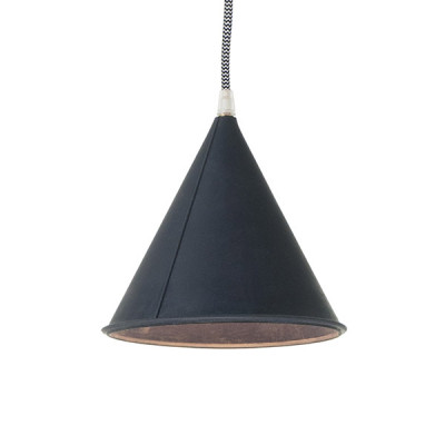 In-es.artdesign - Be.pop - Pop 2 SP - Lampadario moderno colorato - Blu/bianco nero - LS-IN-ES022DB-BN