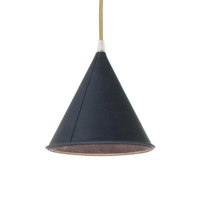 In-es.artdesign - Be.pop - Pop 2 SP - Lampadario moderno colorato - Blu/oro - LS-IN-ES022DB-O