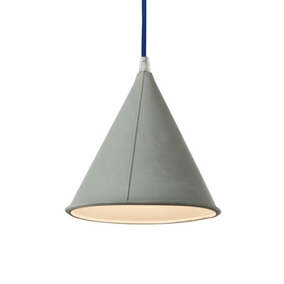 In-es.artdesign - Be.pop - Pop 2 SP - Lampadario moderno colorato - Grigio / blu - LS-IN-ES022GR-BL