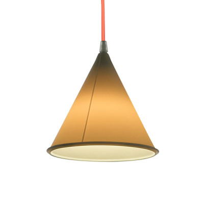 In-es.artdesign - Be.pop - Pop 2 SP - Lampadario moderno colorato - Neutro/arancione - LS-IN-ES022N-AF
