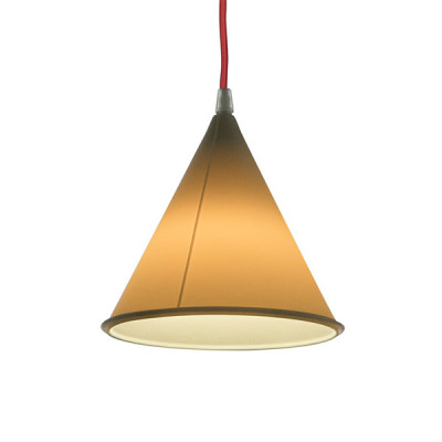 In-es.artdesign - Be.pop - Pop 2 SP - Lampadario moderno colorato - Neutro/rosso - LS-IN-ES022N-R